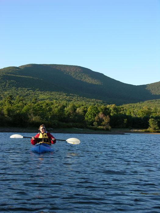 050924-n8700, Trip to the Catskills (Day Two), Water, Ponds, Lakes, General, Kayaking, Paddling, Boating, Favorites, Mountains, Hills, Cliffs, Colgate Lake