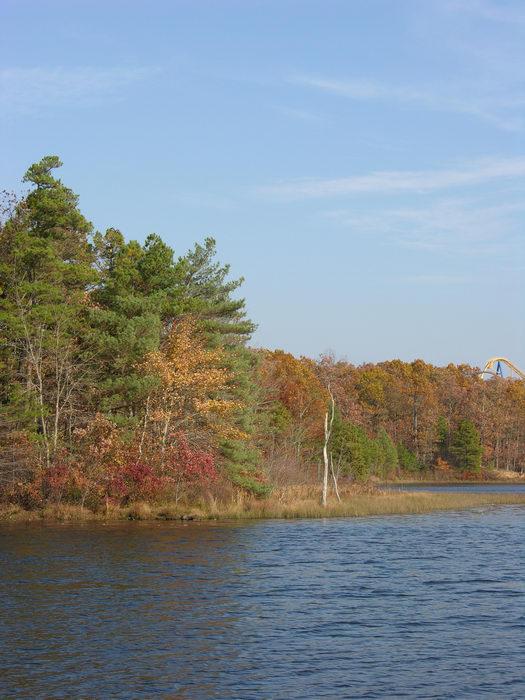 051106-n8700, Water, Ponds, Lakes, General, Prospertown Wildlife Managamenet Area (NJ), Fall, Colors