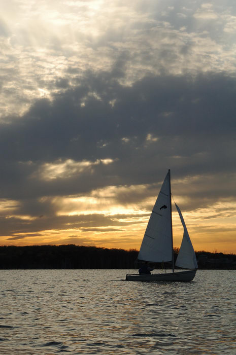 Manasquan, Reservoir, Sailing, water, sunset