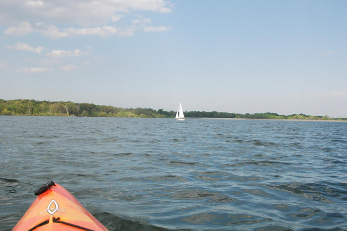Manasquan, Reservoir, Sailing, Enjoying, some, MCParks, CAL00198