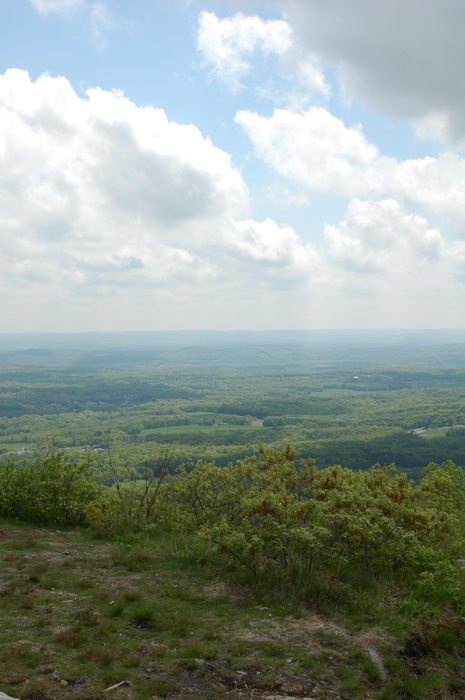 060513, Sunrise, Mountain, scenic, overlook, (, NJ), Camping, with, Christine,