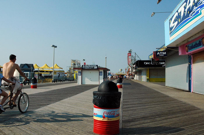 Seaside beach and boardwalk (NJ), Trails, Paths, Boardwalks, AVP, in,