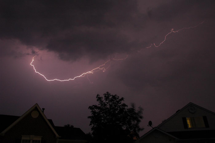 Moms, House, Freehold, Clouds, Sky, Storms, A, lightning, storm, at, my, place, ()