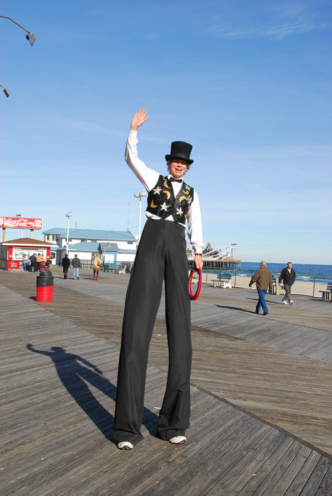 Casino Pier, Performers, Some, clowns, at, the, pier