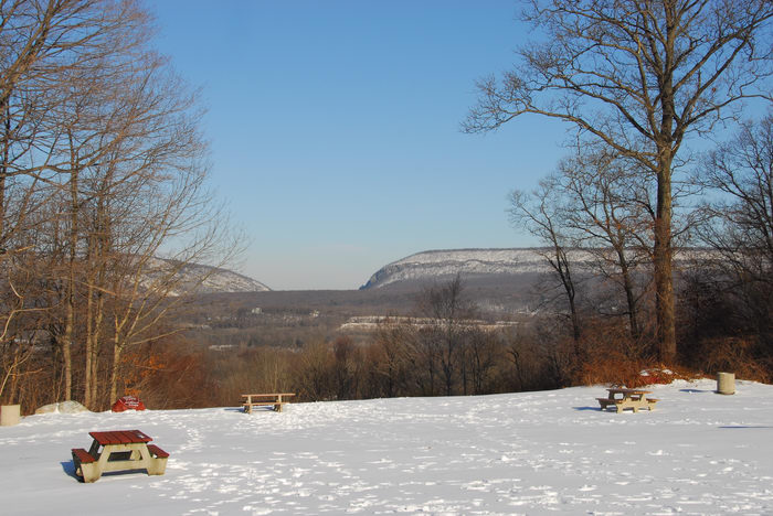 Delaware Water Gap Recreation Area, Snow, Ice, A, snowy, walk, through, the