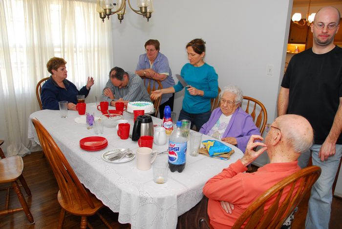 Mom, Scott, Mommom, Poppop, Aunt, Jan, Paul, Get, Togethers, Food, JoAnn, Birth, Day, (party), BDay, get together, Scott's new house