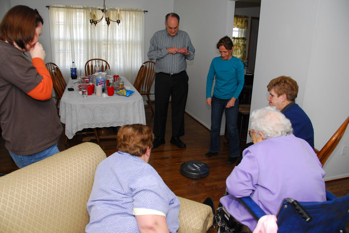 Mom, Mommom, Aunt, Jan, Paul, Get, Togethers, JoAnn, General, BDay, get together, Scott's new house