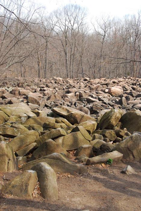 Interesting, Rocks, Rock, formations, Camping, in, Jim, Thorpe, PA, Ringing, Park, LOC00133