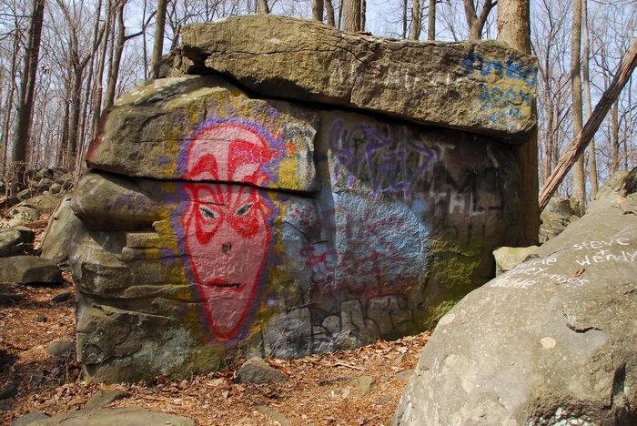 Rocks, Rock, formations, Camping, in, Jim, Thorpe, PA, Ringing, Park, LOC00133