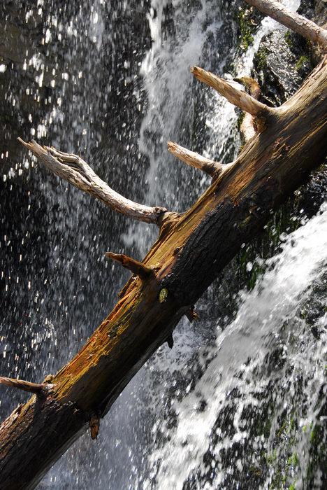 Waterfalls, Moving, Water, Camping, in, Jim, Thorpe, PA, Ringing Rocks Park