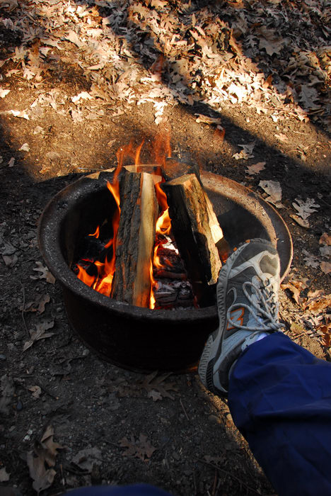 Camping, Fire, in, Jim, Thorpe, PA, Resort, (LOC00129, PA)