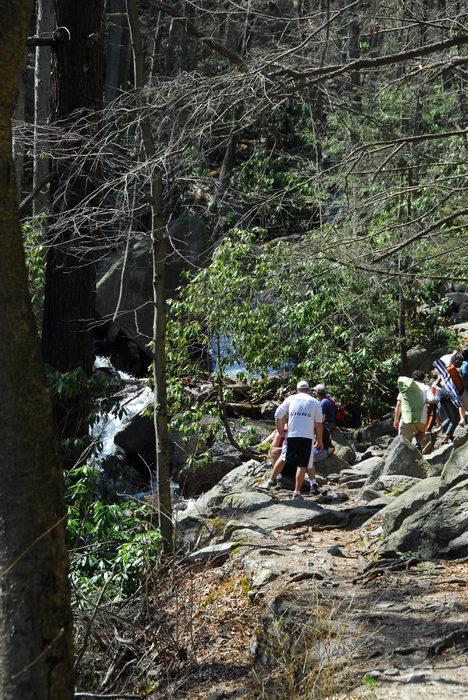 Trails, Paths, Boardwalks, Camping, in, Jim, Thorpe, PA, Glen, Onoko, Falls, Access, (LOC00130)