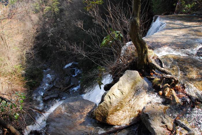 Waterfalls, Moving, Water, Rivers, Streams, Rocks, Rock, formations, Camping, in, Jim, Thorpe, PA, Glen, Onoko, Falls, Access, (LOC00130)