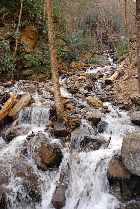 Waterfalls, Moving, Water, Rivers, Streams, Camping, in, Jim, Thorpe, PA, Glen, Onoko, Falls, Access, (LOC00130)