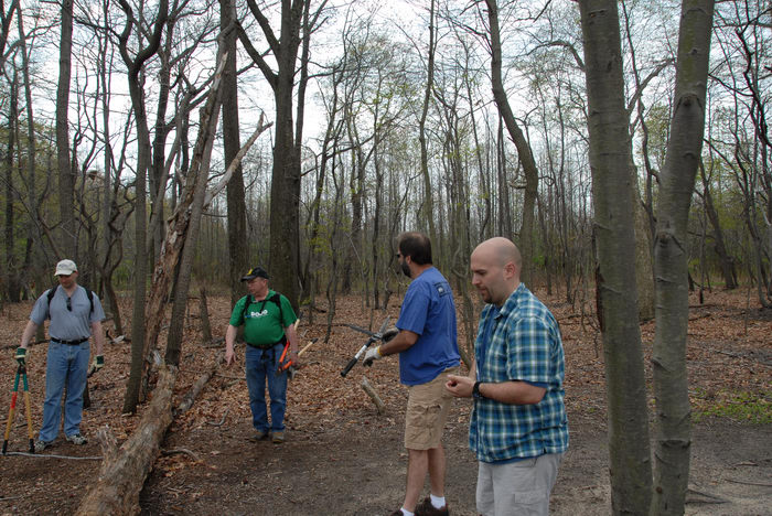 Mercer County Park (NJ), Friends, Outdoors, Trail, Maintenance, SMARTs, April, Day