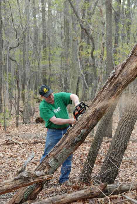 Mercer County Park (NJ), Trail, Maintenance, SMARTs, April, Day