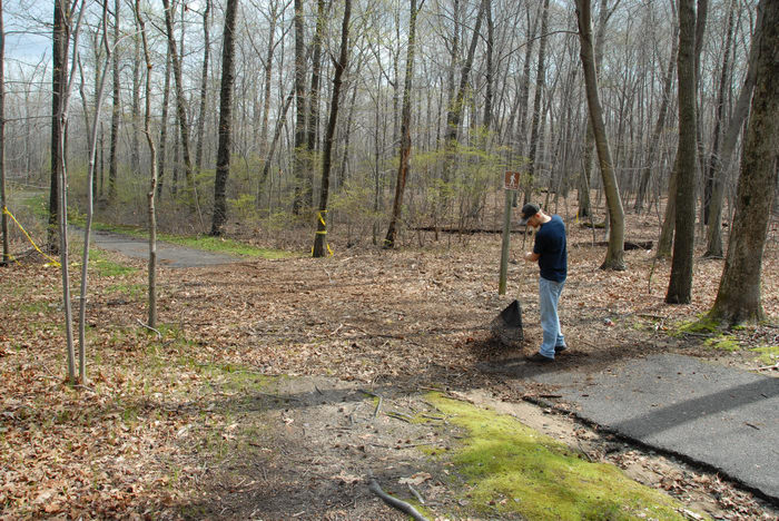 Mercer County Park (NJ), Trails, Paths, Boardwalks, Friends, Outdoors, Trail, Maintenance, SMARTs, April, Day