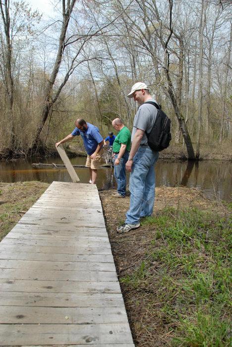 Mercer County Park (NJ), Trails, Paths, Boardwalks, Bridges, Roads, Friends, Outdoors, Trail, Maintenance, SMARTs, April, Day