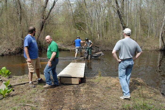 Mercer County Park (NJ), Trails, Paths, Boardwalks, Biking, Mountain, Bridges, Roads, Friends, Outdoors, Trail, Maintenance, SMARTs, April, Day