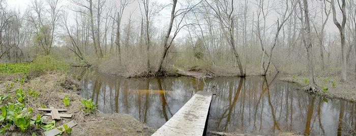Mercer County Park (NJ), Trails, Paths, Boardwalks, Bridges, Roads, Panoramic, Pan1