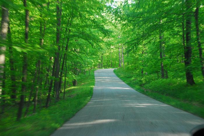 High Point, Biking, in, Waway, camping, at