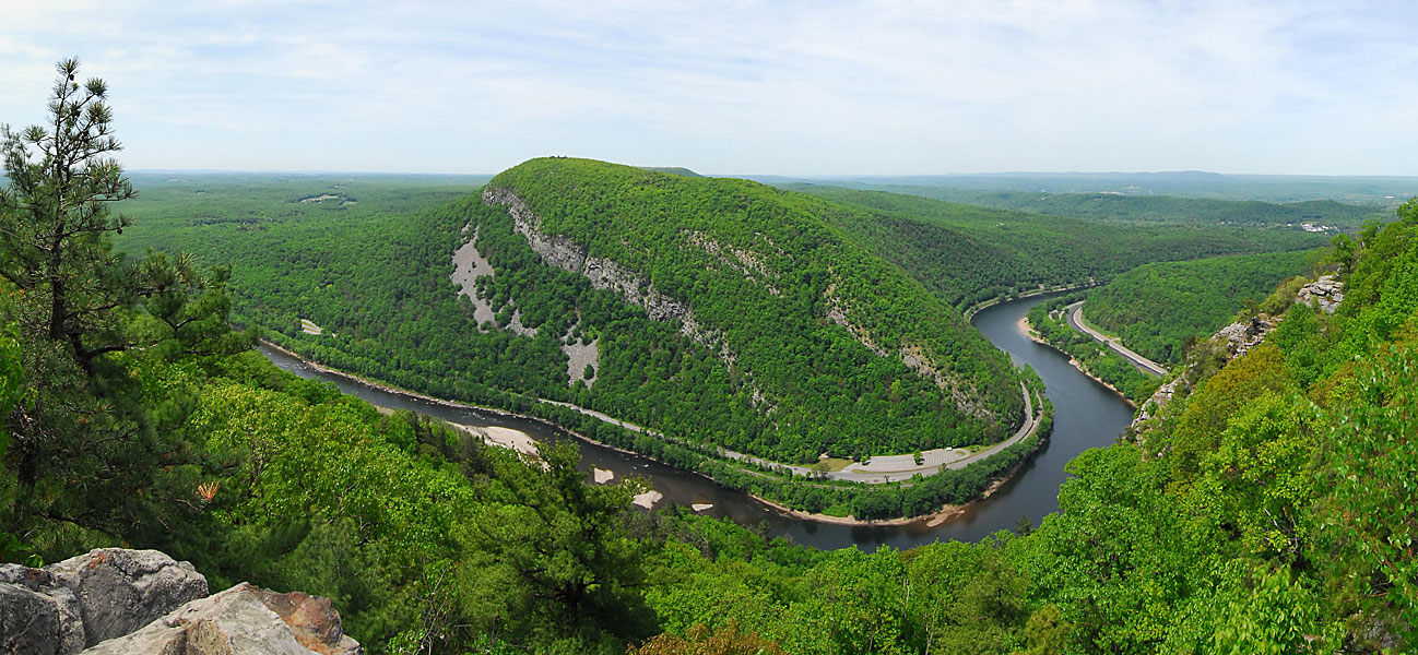 Delaware Water Gap Recreation Area, Panoramic, Pan1