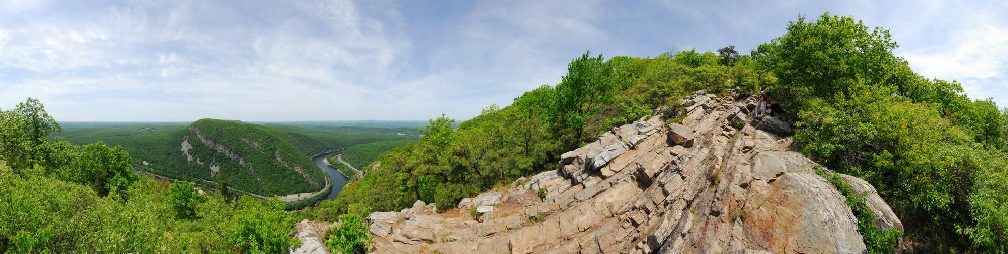 Delaware Water Gap Recreation Area, Panoramic, Pan2