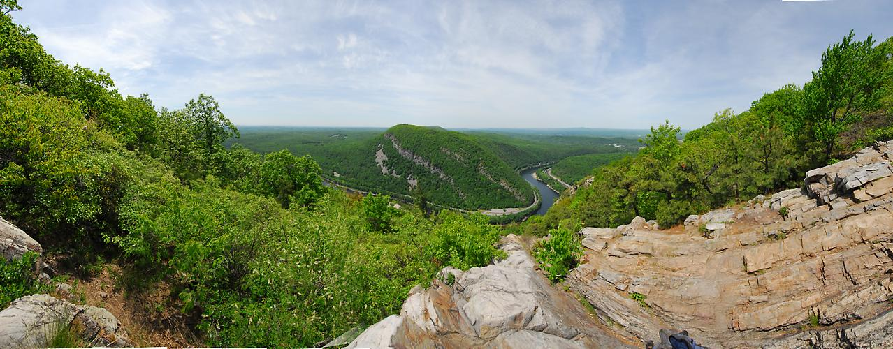 Delaware Water Gap Recreation Area, Panoramic, Pan3