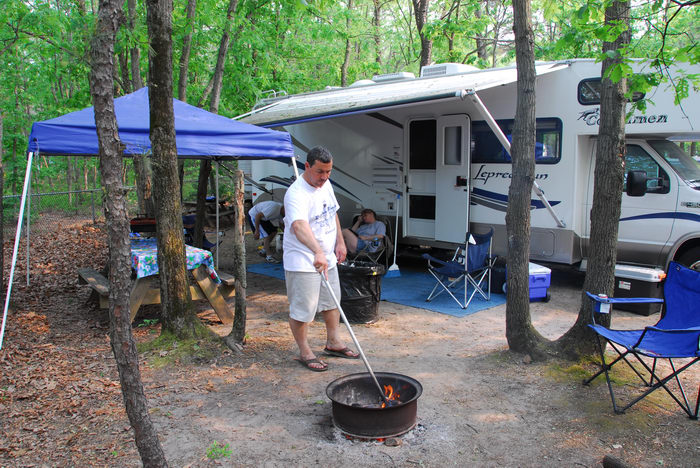 070527, Camping, With, Ron, at, Indian Rock Campground