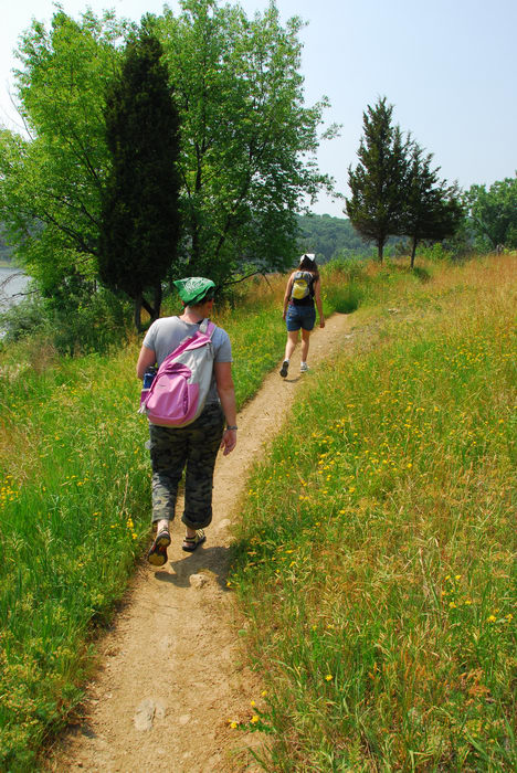 Round Valley Recreation Area, Hiking, with, the, girls