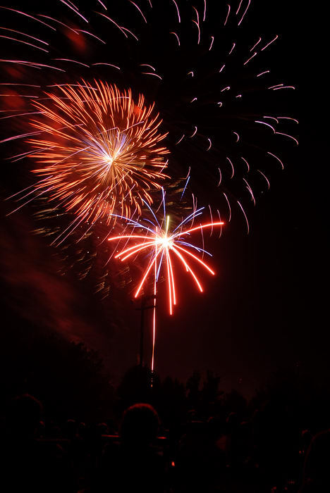 fireworks, Oak Glen Park, Howell, NJ