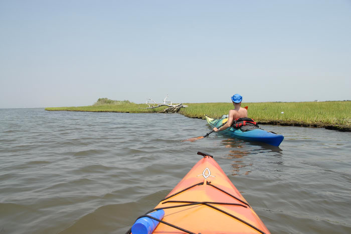 Kayaking, Paddling, Boating, Rob, Shedel, Sedge Islands (NJ), Friends, Outdoors, with, in, the