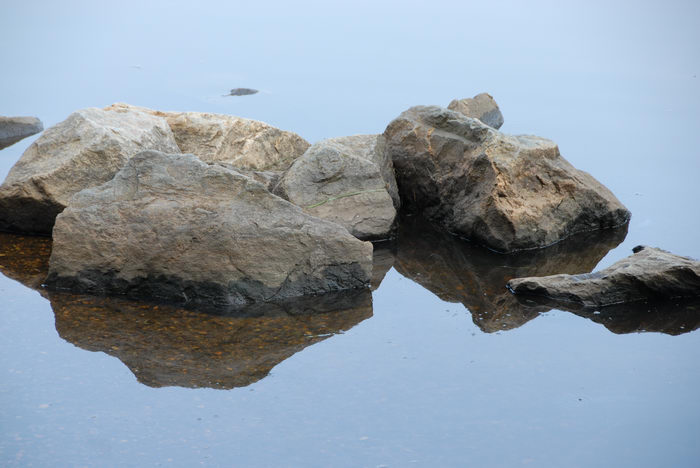 Water, Ponds, Lakes, General, Rivers, Streams, Rocks, Rock, formations, Forge Pond (NJ), Reflections, Paddling, with, Rob, in