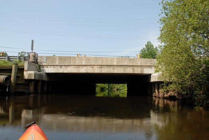 Water, Ponds, Lakes, General, Kayaking, Paddling, Boating, Rivers, Streams, Bridges, Roads, with, Rob, in, Forge Pond (NJ), Metedeconk, River, LOC00070