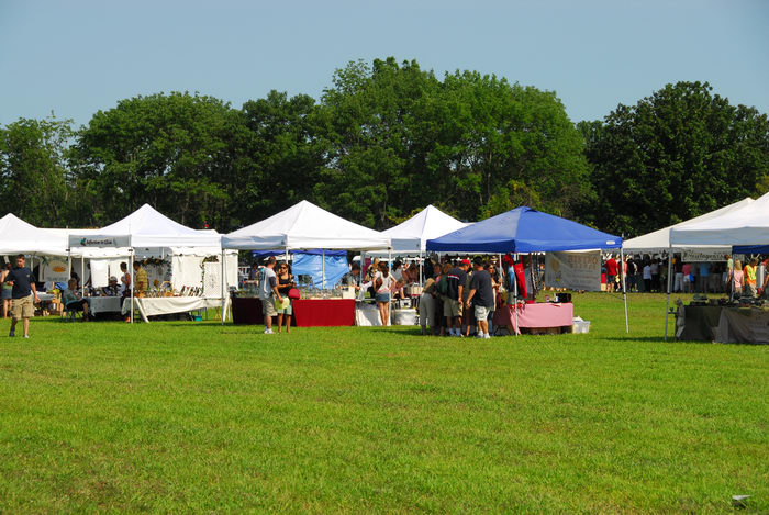 canopy, festival, field, grass
