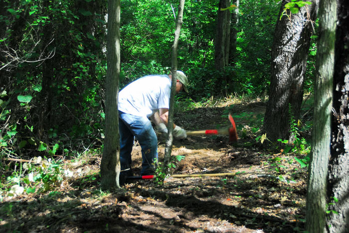 S.M.A.R.T., path, tools, trail, trail maintenance, trees, woods