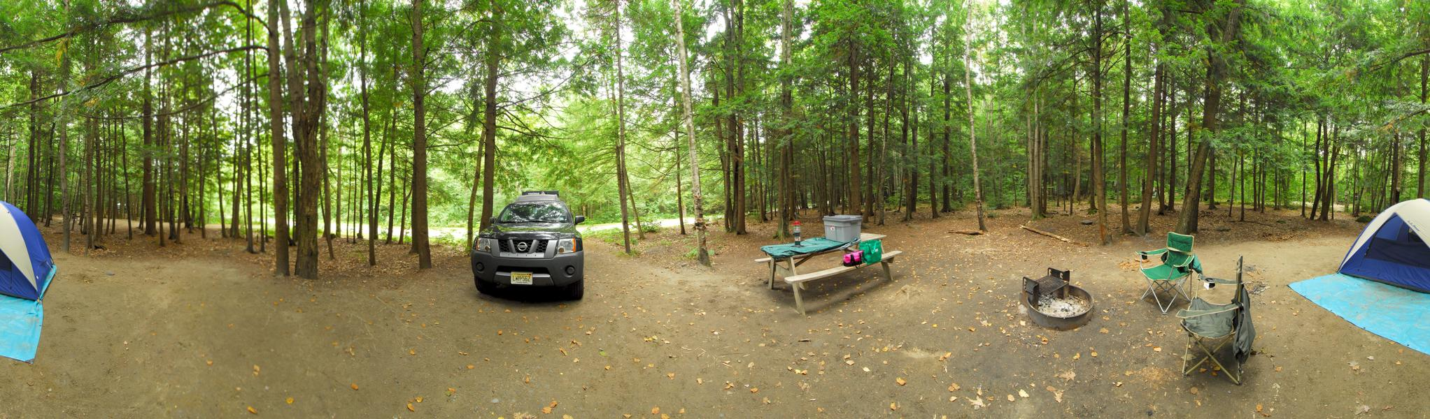 XTerra, firering, panoramic