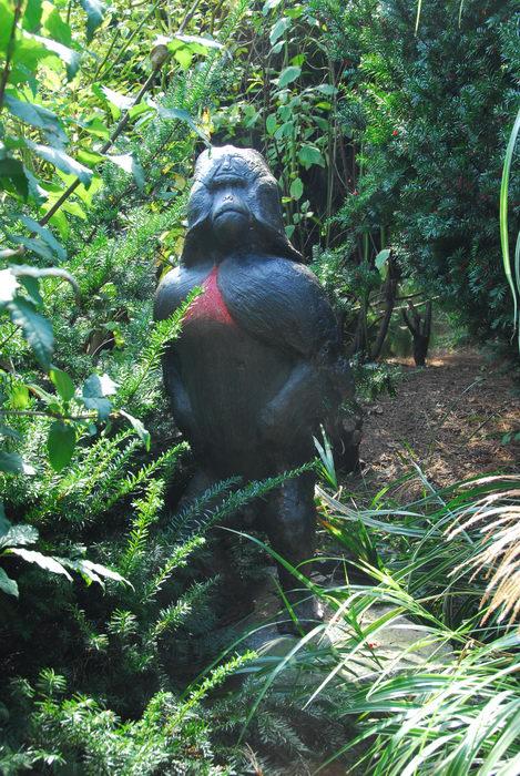 Sculptures, Statues, trees