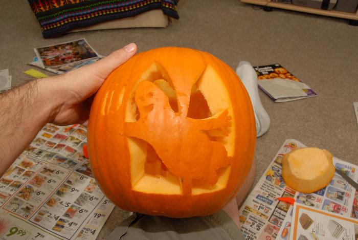 pumpkin, pumpkin carving