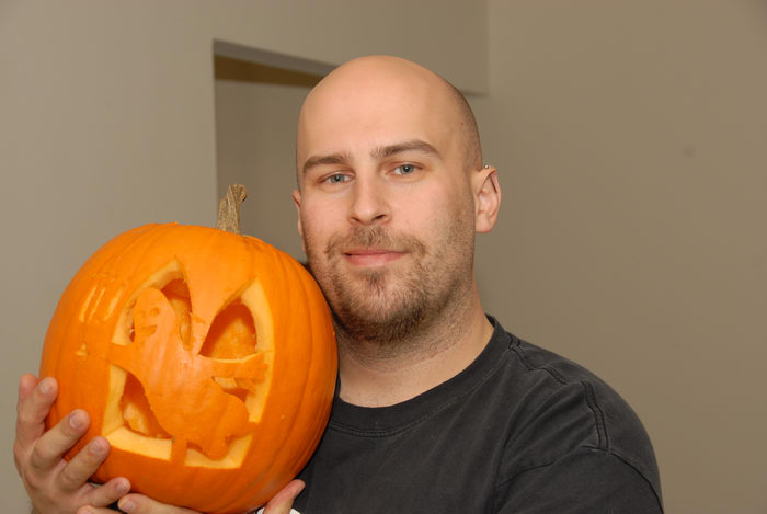 Jeff Conklin, pumpkin, pumpkin carving