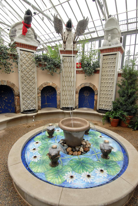 fountain, sculpture