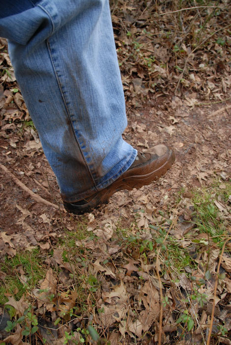 boots, grass, jeans, mud, woods