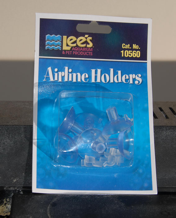 airline holder, suction cups