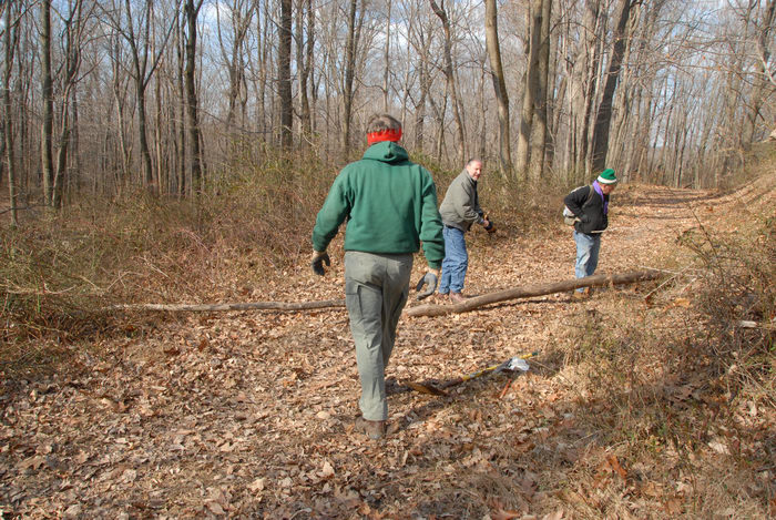 NJ Trail Association, people, trail, trail maintenance