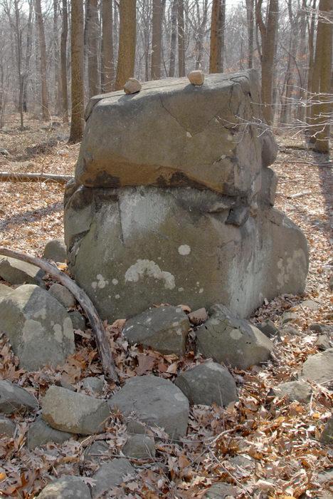 rocks, woods