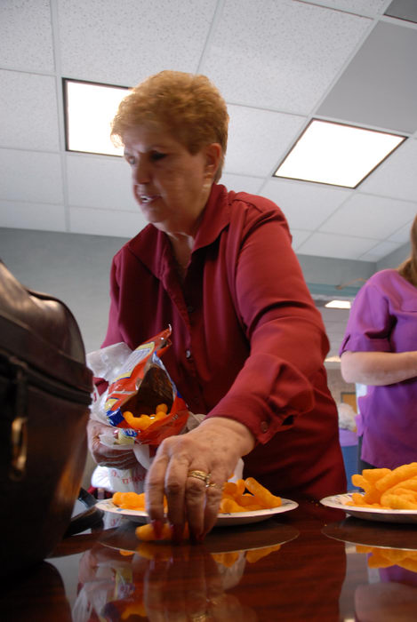 Aunt Jan, food