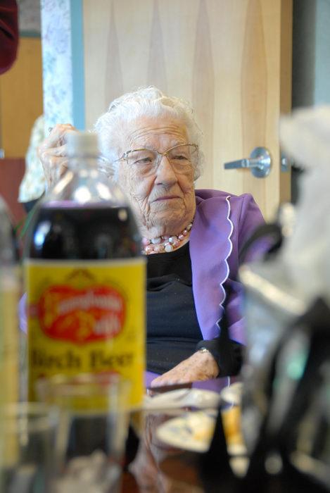 Mommom, bottles, soda