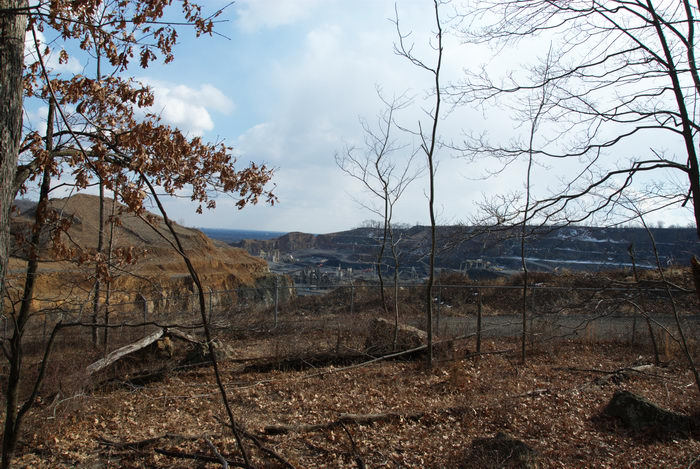 Stavola Quarry, quarry, scenic overlook
