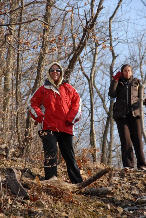 Jackie, Jaimi, woods