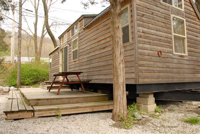 cabin, deck
